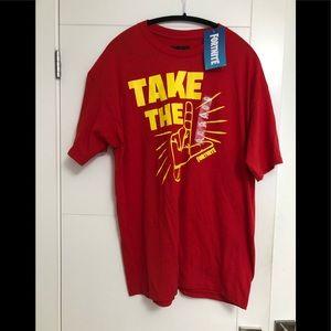 FORTNITE/Men's/XL/Red/T-Shirt/NWT